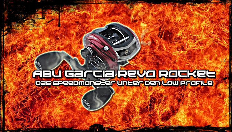 Baitcaster mit Speedoption – Abu Garcia Rocket