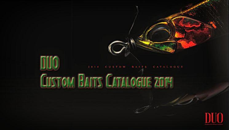 DUO Custom Baits Katalog 2014