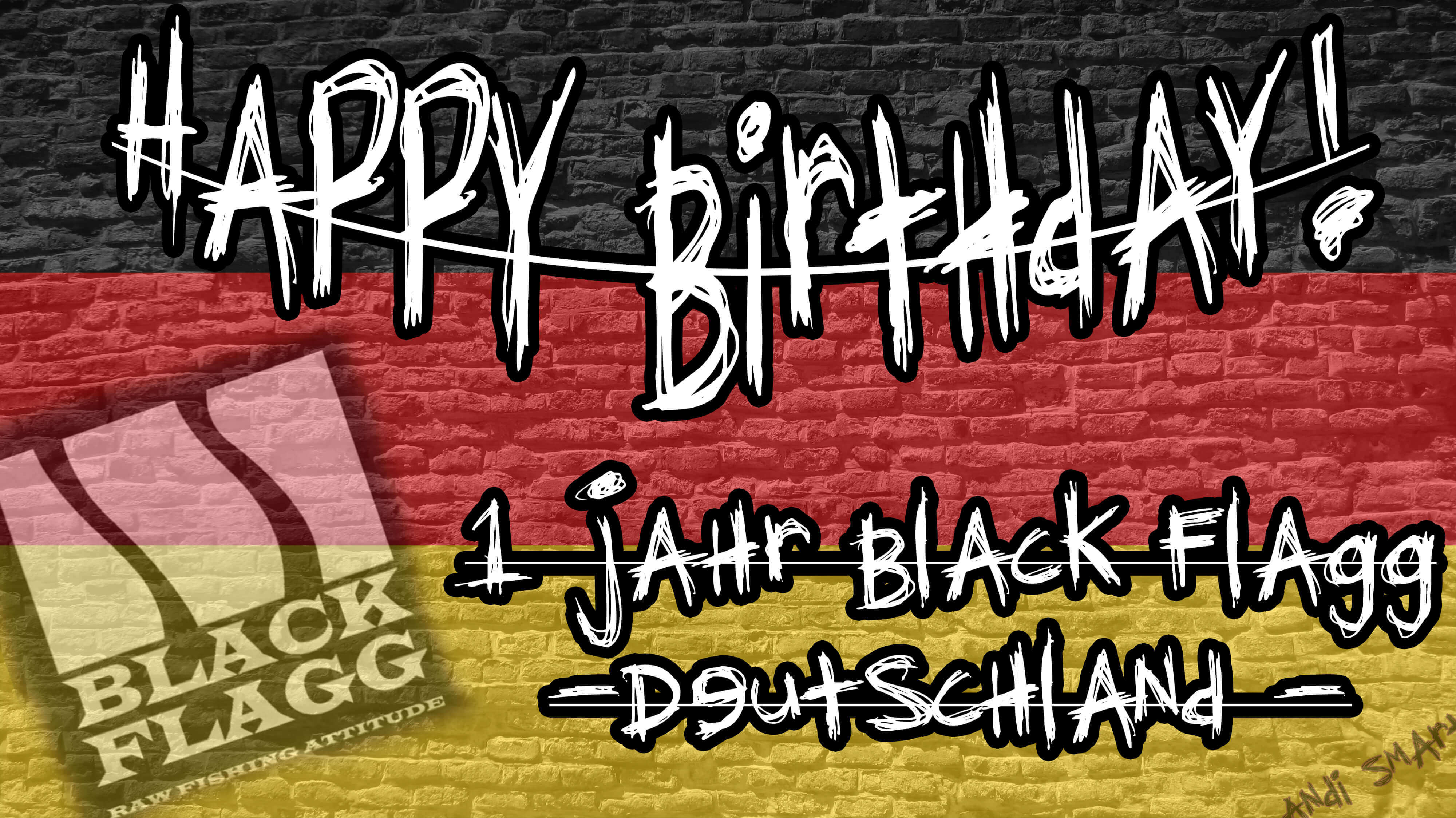 1 Jahr Black Flagg Deutschland