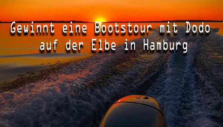 Gewinnt eine Bootstour auf der Elbe in Hamburg