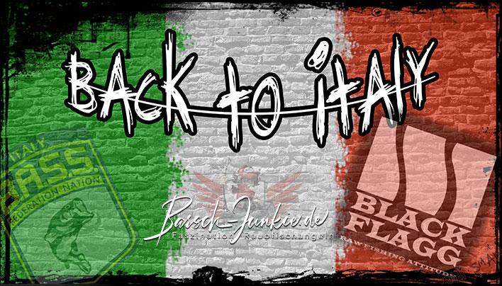 Italien Blackbass im Frühjahr
